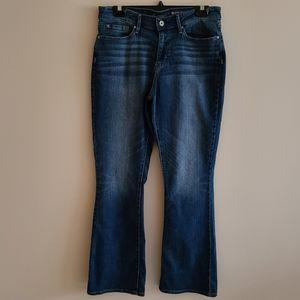 Signature Levi Strauss modern boot cut jeans 12M